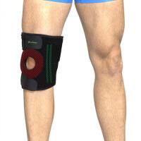 户外运动保护透气护膝  登山徒步男女 篮球 含4根弹簧