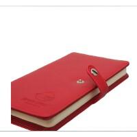 广博 愤怒的小鸟100页皮面笔记本子 办公按钮扣记事日记本AB5105