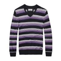 思莱德男士时尚商务休闲针织衫5-5-3-411124016091