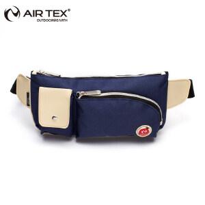 AIRTEX/亚特 耐磨防水轻便 分层多袋贴身隐形腰包 英国时尚户外