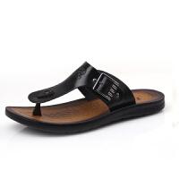 格罗堡夏季新款韩版潮流学生人字拖男士防滑夹脚户外休闲沙滩凉拖鞋HRD8936