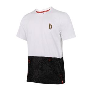 Adidas阿迪达斯  2017新款男子运动休闲透气短袖T恤  AZ3972