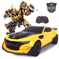 活石 变形遥控车 兰博基尼感应变形遥控汽车模型 电动玩具车 儿童玩具生日礼物