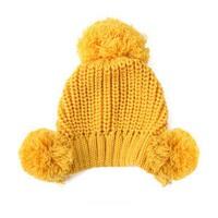 秋冬儿童帽子  新生儿冬针织帽   女童男童  宝宝护耳帽  婴儿帽