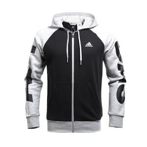 Adidas阿迪达斯 2017新款男子训练系列针织运动休闲夹克外套 BQ7085/BQ7088