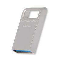 Kingston金士顿 DTMC3 32G USB 3.1 U盘 32G Kingston DataTraveler Micro 3.1 32G 高速金属U盘 32g