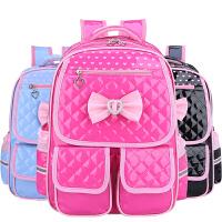 可爱韩版小学生书包1-3-4-6年级女童公主减负双肩背包儿童女孩2