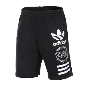 Adidas阿迪达斯  2017夏季新款三叶草男子运动休闲宽松透气短裤  BQ0927