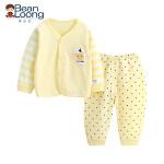 憨豆龙婴儿内衣宝宝纯棉套装春秋0-1岁男女童睡衣