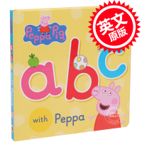[现货]英文原版 小猪佩奇 小猪佩佩琪 粉红猪小妹 Peppa Pig: ABC