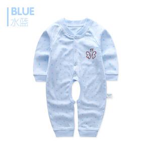 歌歌宝贝    婴儿衣服春秋季纯棉12个月宝宝连体衣  新生儿哈衣薄款