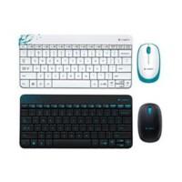 罗技 MK240 无线鼠标键盘套装 USB电脑笔记本迷你键鼠超薄款