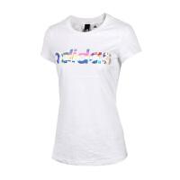 Adidas阿迪达斯女装 2017夏季新款运动休闲短袖T恤 CD1118/CD1120