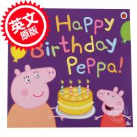 [现货]小猪佩佩琪 粉红猪小妹 英文原版 Peppa Pig: Happy Birthday, Peppa