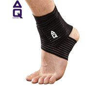 AQ护踝扭伤防护篮球足球运动护具薄绷带护脚踝男女AQ9161
