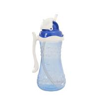 【当当自营】Pigeon贝亲 单手便携大容量吸管杯(浅醇蓝)DA48 水壶/水杯/吸管杯 贝亲洗护喂养用品