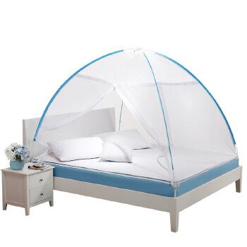 【5p5帐篷】免安装蒙古包蚊帐支架学生单人双人家用