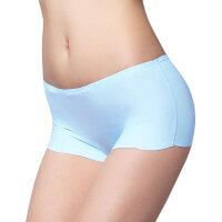 夏季牛奶丝女士冰丝无痕性感内裤中低腰小平角裤纯棉裆透气隐形