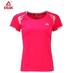 Peak/匹克 女款简约清爽柔软舒适运动休闲圆领T恤F632792