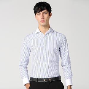 春秋新款纯棉长袖衬衫男商务休闲衬衫 集合智造系列