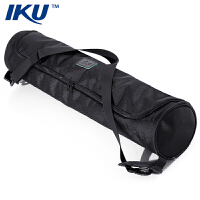 IKU 瑜伽垫背包 高档时尚便携式瑜伽专用包 防水防尘简洁瑜珈背包瑜伽包 经典黑(多种规格可选)