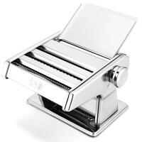 小型不锈钢压面机  家用面条机 手动饺子馄饨皮擀面机