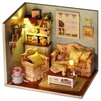 智趣屋 diy小屋美好时光手工拼装建筑小房子模型玩具创意生日礼物