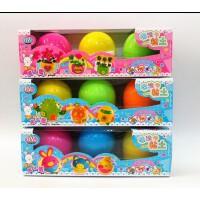 智高9209KK魔法蛋3颗装3D轻质彩泥魔法粘土儿童益智玩具