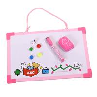 晨光文具 挂式小白板 儿童留言板白板小黑板写字板ADB98301 颜色*发