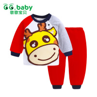 歌歌宝贝  宝宝冬季棉衣保暖套装  婴儿棉袄  婴幼儿薄棉棉衣