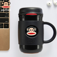 PaulFrank/大嘴猴保温杯男女士高档办公商务水杯真空不锈钢茶杯