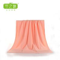 [当当自营]竹之锦  竹纤维高端加厚简约成人大浴巾 裹胸洗澡大浴巾 Y-012 粉色