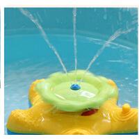 好玩 宝宝洗澡玩具 儿童戏水玩具 喷水海星