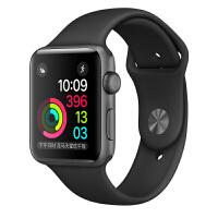 [当当自营] Apple Watch Sport Series 1智能手表(42毫米深空灰色铝金属表壳搭配黑色运动型表带 MP032CH/A)