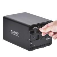 【包邮】orico 9528u3外置2盘3.5硬盘存储SATA移动硬盘座usb3.0硬盘盒