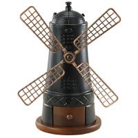 台湾原装BE9358荷兰风车手摇磨豆机 手动咖啡豆研磨机 收藏 送礼