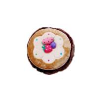 可爱蛋糕暖手宝 毛绒双插手 充电热水袋电暖袋 颜色随机