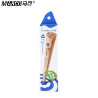 Marco马可 6003-12CB铅笔 原木色铅笔 三角杆书写铅笔 HB 学生铅笔 原木铅笔