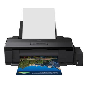 Epson/爱普生 L1800 墨仓式 彩色喷墨打印机 A3+幅面 影像设计 无边距打印 高品质打印质量