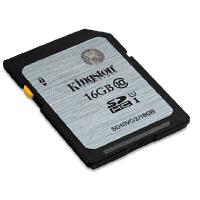 kingston金士顿 sd卡 16G高速卡 UHS-I Class10 高速SD存储卡 16g SD10VG2 16G相机存储卡