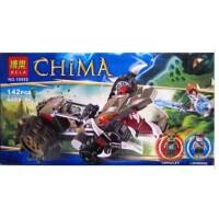 博乐 积木气功传奇Chima赤马神兽气功传奇 10052黄金鳄巨爪粉碎车