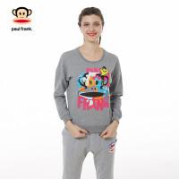 Paul Frank/大嘴猴【商场同款】女式圆领套头卫衣PFATT154041W