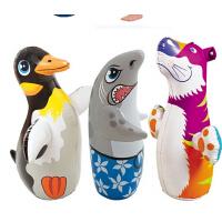 原装INTEX动物不倒翁 3D沙底 益智充气玩具 拳击袋 高91CM