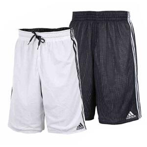 Adidas阿迪达斯男裤 2017夏季新款运动休闲两面穿短裤 BR7907