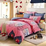 [当当自营]维众床品 床上用品全棉斜纹印花双人床单四件套 英伦风1.5米/1.8米通用