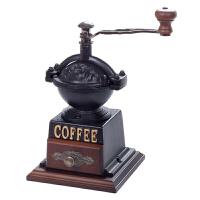 台湾原装进口BE9888 复古手摇咖啡磨豆机 手动咖啡豆研磨器研磨机