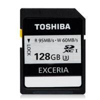 东芝SD卡128G 95M 相机内存卡SDXC 128G 读95M写70M 支持4K高清 东芝银卡 128g