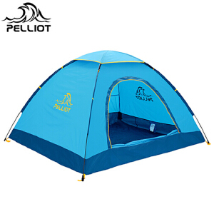 【满299减200】法国PELLIOT/伯希和 户外露营帐篷 双人多人野营旅游防雨野外流动宿营快开