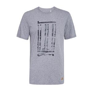ADIDAS阿迪达斯 男子武极系列短袖T恤 AJ3724 AJ3725 AJ3726
