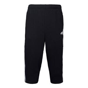 Adidas阿迪达斯男裤 2017夏季新款运动休闲中裤七分裤短裤 BK7472